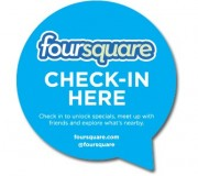 Foursquare-Checkin